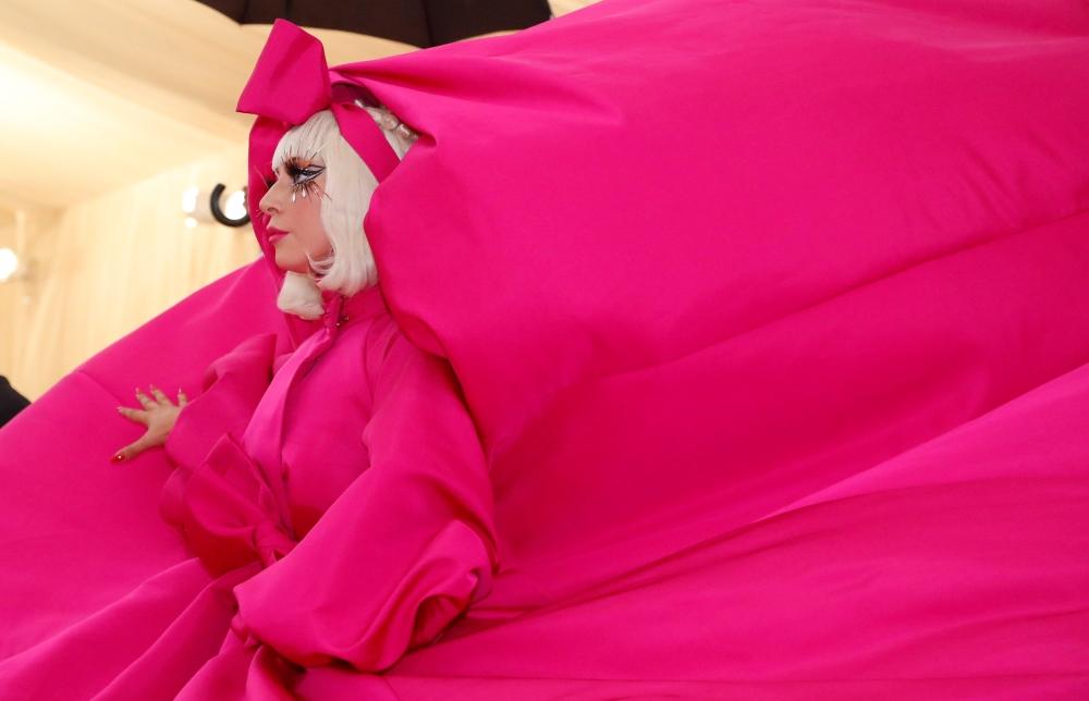 Lady Gaga arrives at Metropolitan Museum of Art Costume Institute Gala (Met Gala)in New York City. — Reuters