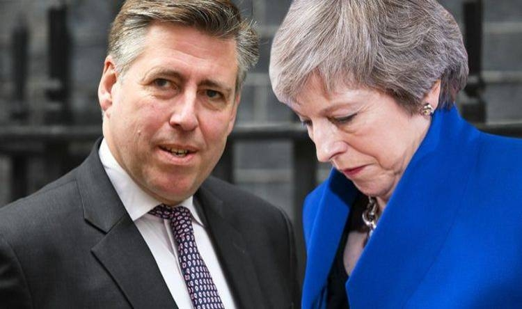Sir Graham Brady and Prime Minister Theresa May - Courtesy photo