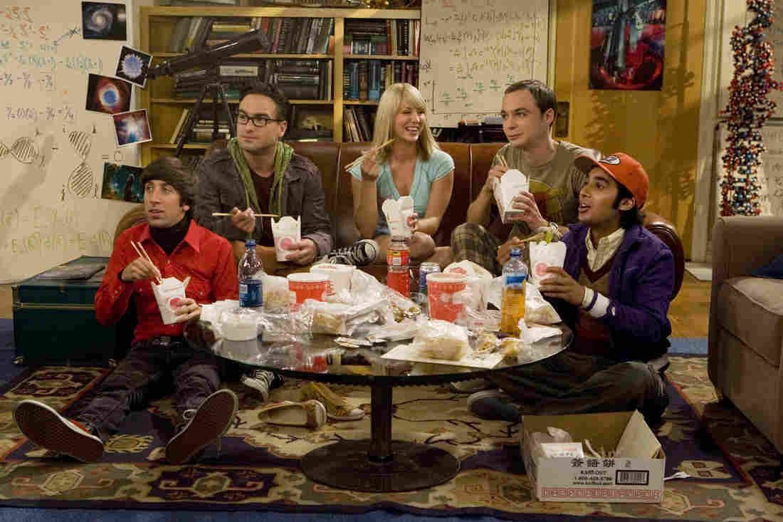 The characters in The Big Bang Theory were