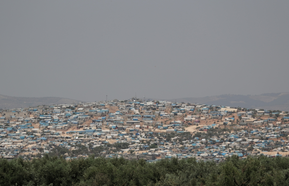 A general view of Atmeh camp for the displaced, in Atmeh town, Idlib province, Syri, in this May 15, 2019 file photo. — Reuters