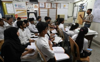 Nearly two-thirds of India's 1.3 billion population are of working age, between 15 and 64, but an increasing number are in the unemployed list.