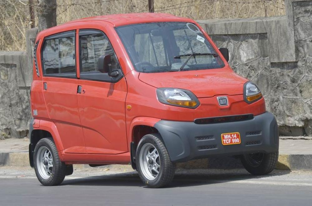 Uber Technologies Inc has launched a new ride-hailing service in India's tech capital Bengaluru that will use miniature gas-powered cars called