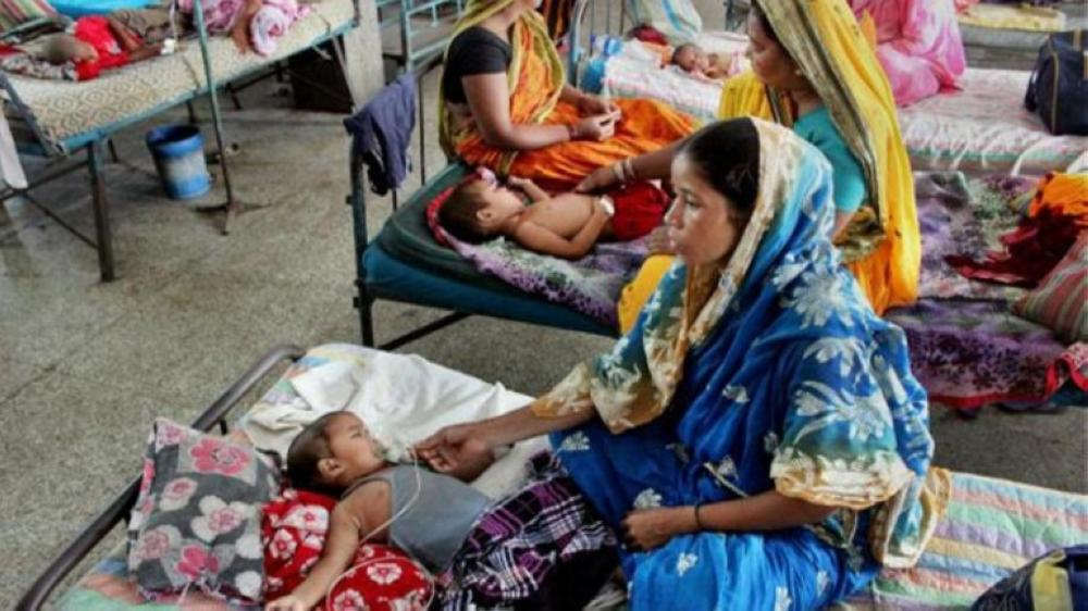 Ninety-seven children had died and 146 were being treated for the disease, which occurs in seasonal outbreaks every summer, in Bihar's Muzaffarpur. — Courtesy: PTI