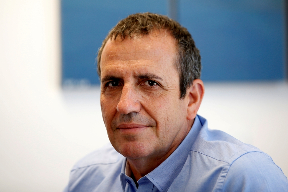 Eyal Waldman, president and CEO of Mellanox Technologies poses for a photograph at the company's headquarters in Yokneam, in northern Israel, in this March 4, 2019 file photo. — Reuters