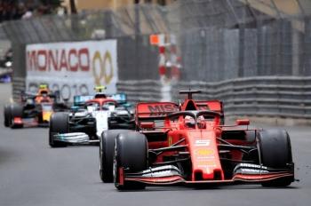 Ferrari's Sebastian Vettel in action during the Formula One F1 Monaco Grand Prix race   at the Circuit de Monaco, Monte Carlo, Monaco, in this May 26, 2019, photo. — Reuters