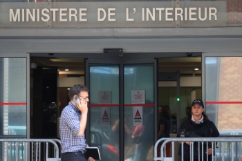 A general view shows the judiciary police offices in Nanterre, near Paris on Tuesday where former UEFA president and French soccer star Michel Platini is detained for questioning in probe over awarding of 2022 World Cup to Qatar. — Reuters
