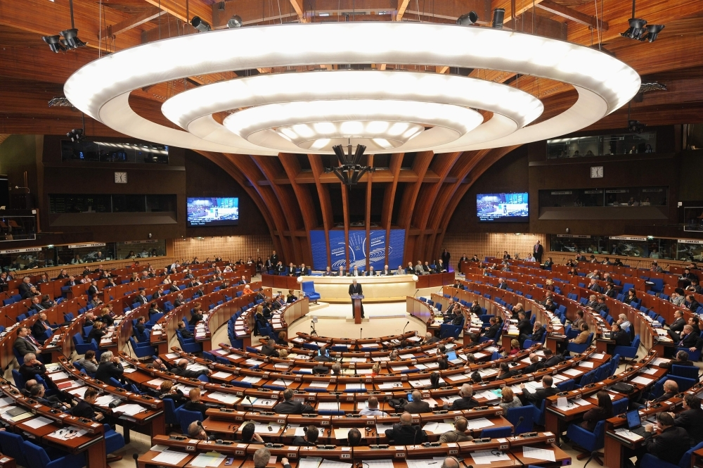 This file photo taken on Jan. 26, 2011 shows a general view of the Council of Europe parliamentary assembly in Strasbourg, eastern France. — AFP