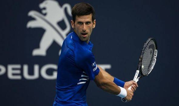 Novak Djokovic said he is looking forward to getting back on the All England Club's