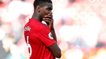 Manchester United's Paul Pogba looks dejected after the Premier League match against Cardiff City at Old Trafford, Manchester, Britain, in this May 12, 2019 file photo. — Reuters