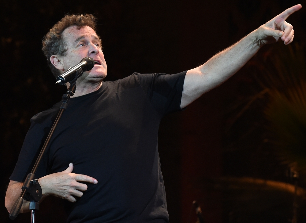 South African singer Johnny Clegg performs during the 20th edition of the World Sacred Music Festival in Fez, Morocco, in this June 16, 2014 file photo. — AFP