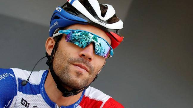 Groupama-FDJ rider Thibaut Pinot of France before the start of the 230-km Stage 7 of Tour de France from Belfort to Chalon-sur-Saone in this July 12, 2019 file photo. — Reuters