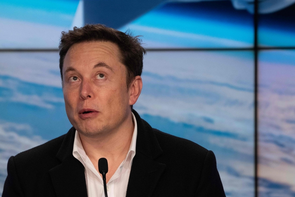 SpaceX chief Elon Musk speaks during a press conference after the launch of SpaceX Crew Dragon Demo mission at the Kennedy Space Center in Florida in this March 02, 2019 file photo. — AFP