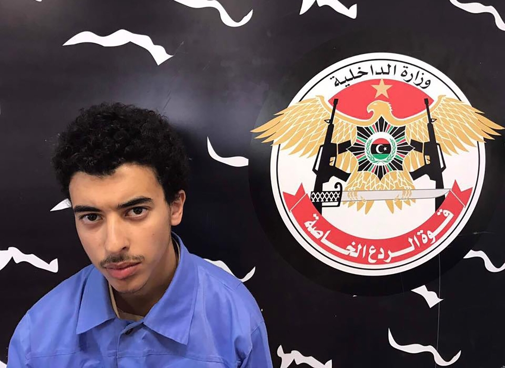 In this file photo taken from the Facebook page of Libya's Ministry of Interior's Special Deterrence Force on May 23, 2017, Hashem Abedi, the brother of the man who carried out the bombing in the British city of Manchester is pictured. — AFP