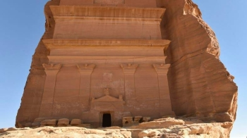 The ancient city of Mada'in Saleh is Saudi Arabia's first UNESCO World Heritage Site. — Courtesy photo