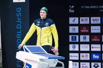 It's still a mystery after Shayna Jack's, seen in this file photo, shock withdrawal from the swimming world championships in Gwangju.