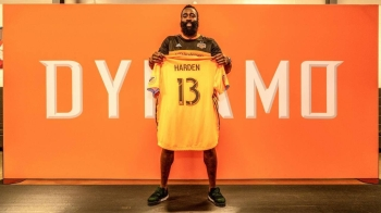 James Harden has made an investment in his NBA city, buying a minority stake in the group that runs the Houston Dynamo of Major League Soccer.