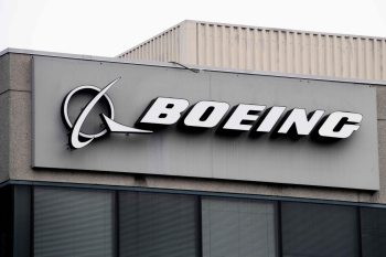 The Boeing Company logo is seen on a building in Annapolis Junction, Maryland, in this March 11, 2019 file photo. — AFP