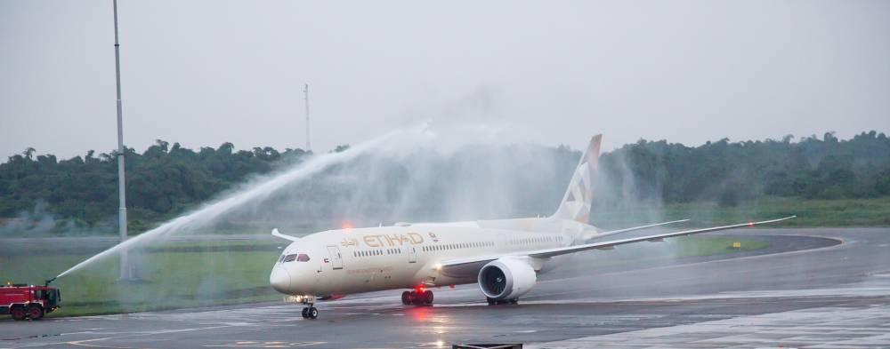 Etihad Airways introduces its Boeing 787-9 Dreamliner to Lagos - Saudi Gazette