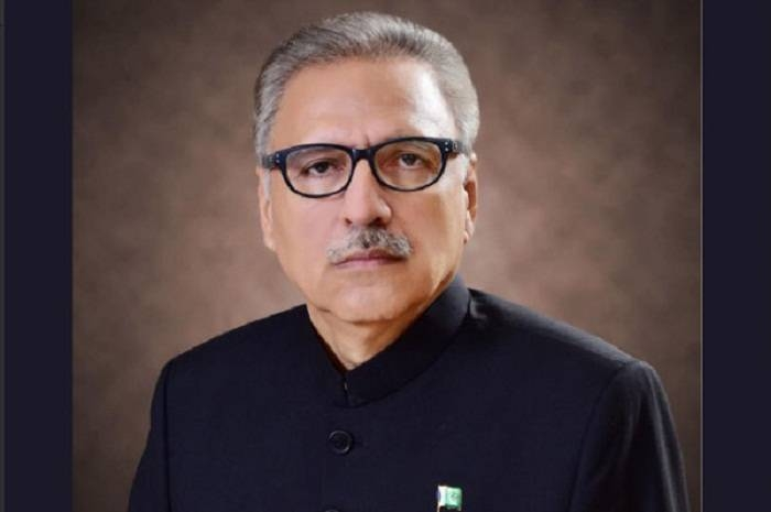 Dr. Arif Alvi, president of Pakistan