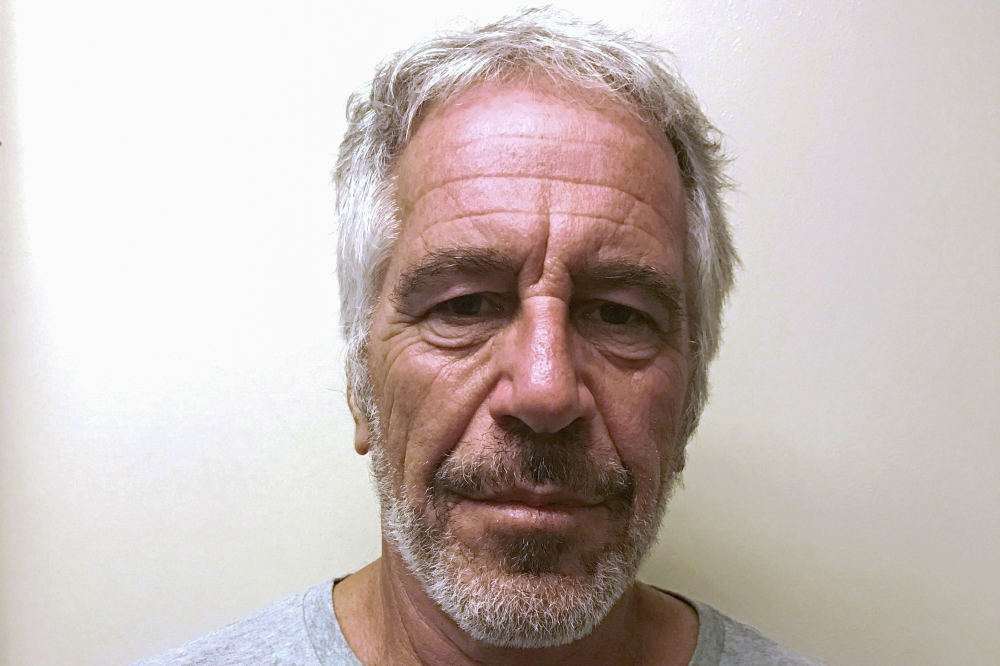 US financier Jeffrey Epstein appears in a photograph taken for the New York State Division of Criminal Justice Services' sex offender registry on March 28, 2017 and obtained by Reuters July 10, 2019. — Reuters