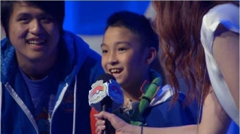 Ten-year-old Wu Pi took first place in junior video game championship held in Washington, recently. — Courtesy photo