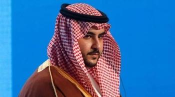 Saudi Deputy Minister of Defense Prince Khalid Bin Salman