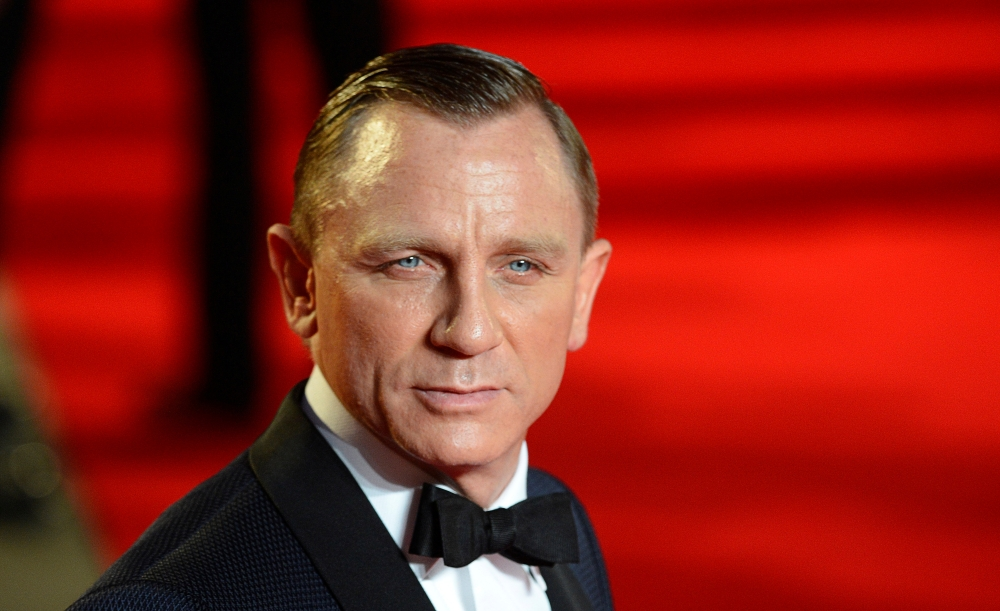 Actor Daniel Craig arrives for the royal world premiere of the new 007 film