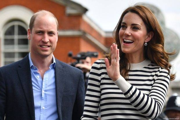 Prince William and Kate Middleton are seen in this file picture. — Courtesy photo