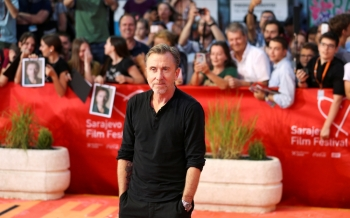 English actor and director Tim Roth poses on the red carpet as he arrives at the 25th Sarajevo Film Festival in Sarajevo, Bosnia and Herzegovina, in this Aug. 20, 2019 file photo. — Reuters