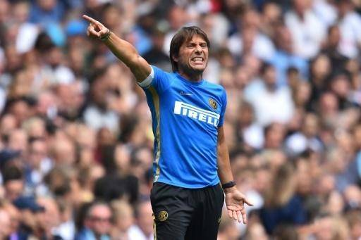 Antonio Conte's first Serie A game as Inter Milan coach will be against his hometown team Lecce. — AFP