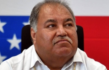 Baron Waqa loses the fight to retain his seat in his constituency in the national election. –Courtesy photo