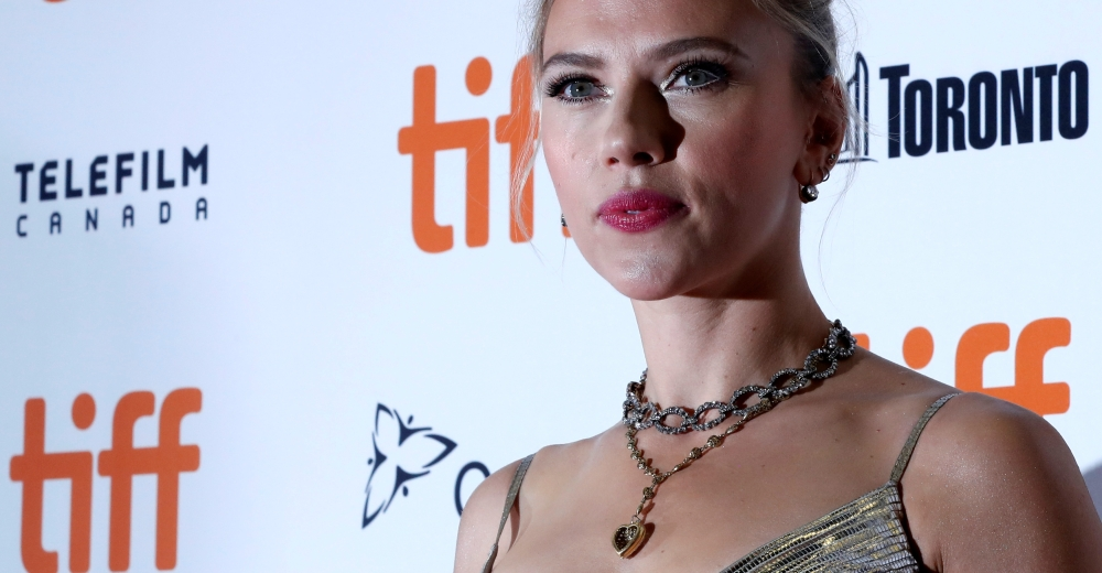 Cast member Scarlett Johansson arrives at the world premiere of