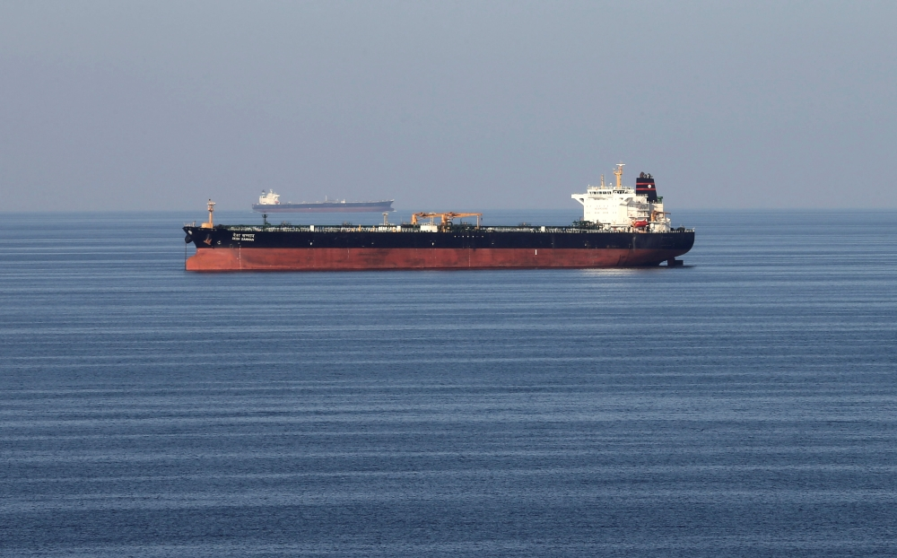 Oil tankers pass through the Strait of Hormuz in this Dec. 21, 2018 file photo. — Reuters