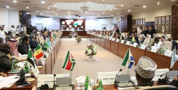 Foreign ministers of the Organization of Islamic Cooperation (OIC) meet in the Saudi capital Riyadh on Sunday. OIC ministers condemned a drone attack against Saudi Arabia's oil infrastructure, a statement said Sunday, a day after the strike which the US has blamed on Iran. — AFP