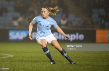 Manchester City's Pauline Bremer in action. — Courtesy photo