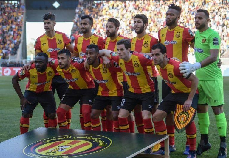 Tunisian club Esperance pose before a match in their triumphant 2019 CAF Champions League campaign. — AFP