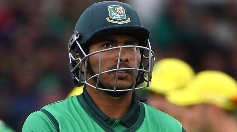 Soumya Sarkar bore brunt criticism for Bangladesh's woeful batting performance at top, having scored just four runs in two matches. — Courtesy photo
