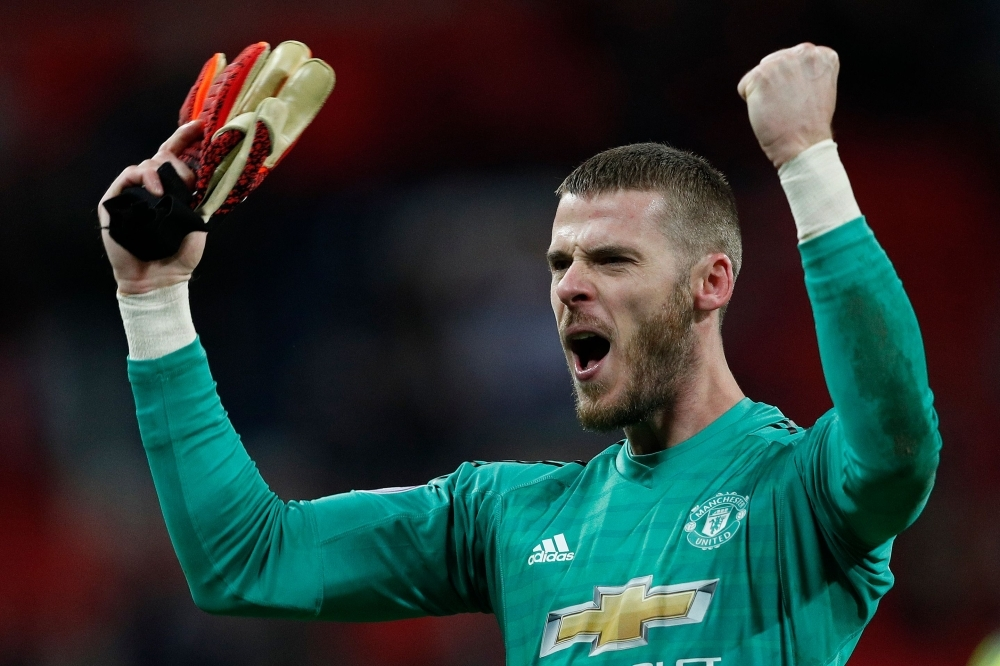 Manchester United's Spanish goalkeeper David de Gea has signed a new long-term contract with Manchester United, the Premier League club announced on Monday, ending months of speculation over his future. — AFP