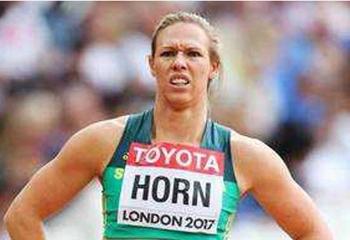 South Africa's sprinter Carina Horn. — Courtesy photo