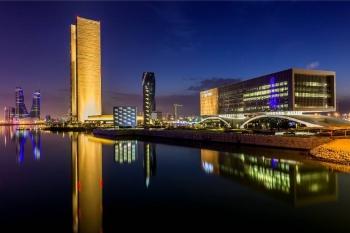 A view of Bahrain.