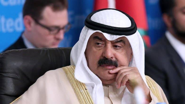 Kuwait's Foreign Minister Sheikh Sabah Al-Khalid Al Sabah seen in this file photo. — AFP