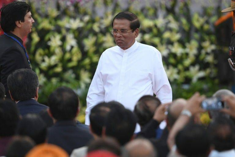Sri Lanka's President Maithripala Sirisena said the new commission has wide judicial powers to gather evidence on the Easter Sunday bombings. –AFP