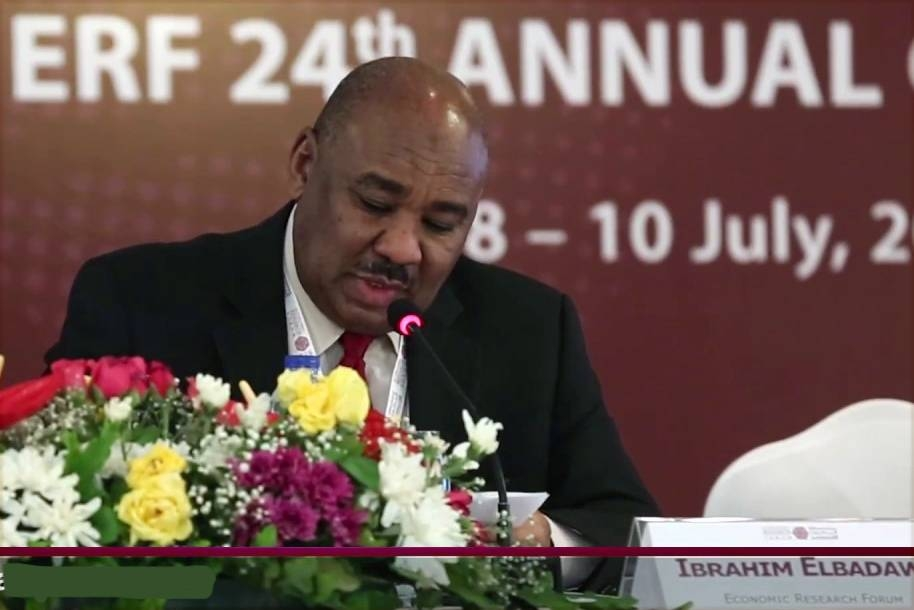 Sudan's Finance Minister Ibrahim Elbadawi is seen in this file photo.