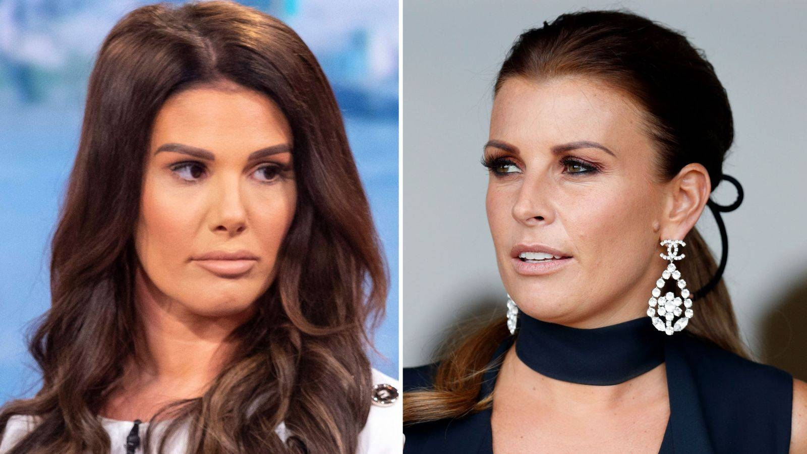 Coleen Rooney, right, and Rebekah Vardy, left, are seen in this file combination picture. — Courtesy photo