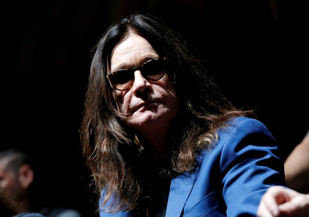 Ozzy Osbourne attends a news conference to announce the 'Ozzfest Meets Knotfest' music festival at the Hollywood Palladium in Los Angeles, California, in this May 12, 2016 file photo. — Reuters