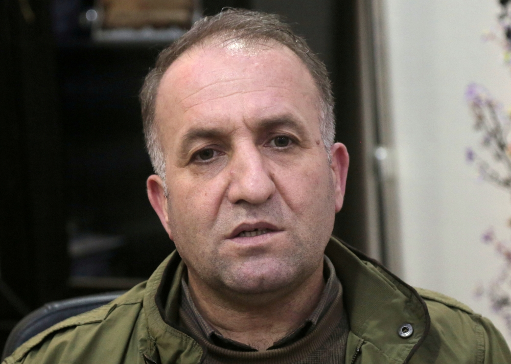 Badran Jia Kurd, top Kurdish official, talks during an interview in Qamishli, Syria, in this March 11, 2019 file photo. — Reuters
