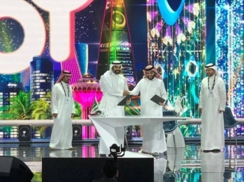 The General Entertainment Authority signed three MoUs during the opening session of the Joy Forum19 in Riyadh, Sunday. — Courtesy photo