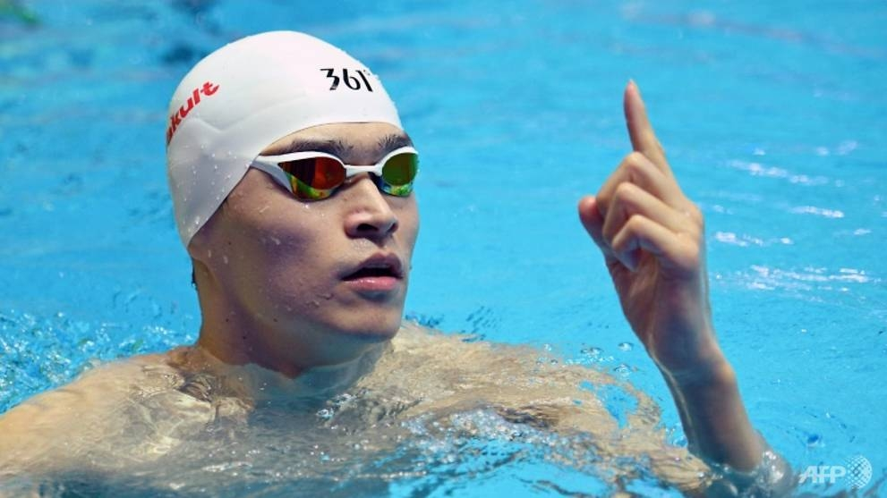 Chinese swimmer Sun Yang will face a Court of Arbitration for Sport hearing on November 15. — Reuters