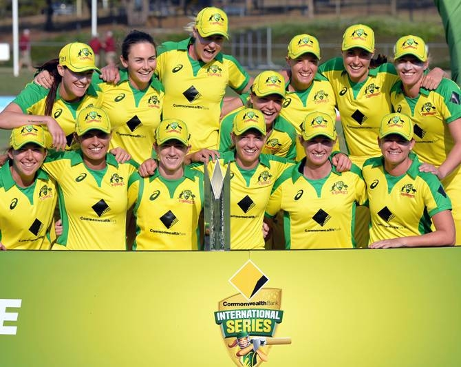 Cricket Australia would fork out an additional $600,000 to make up the shortfall if Australia's women defend their T20 World Cup title next year. — Courtesy photo