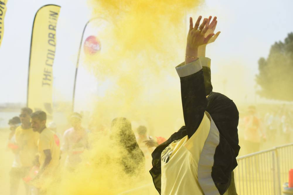The Riyadh event on Oct. 26 follows the Kingdom's extremely popular inaugural Color Run which took place in Khobar in March and saw over 10,000 people run and walk their way along the 5k course. — Courtesy photos